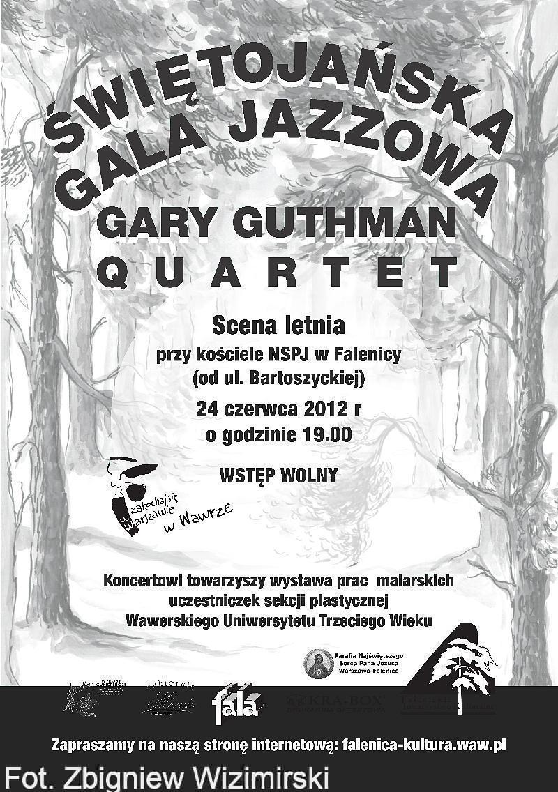 Afisz gala jazzowa 3-1