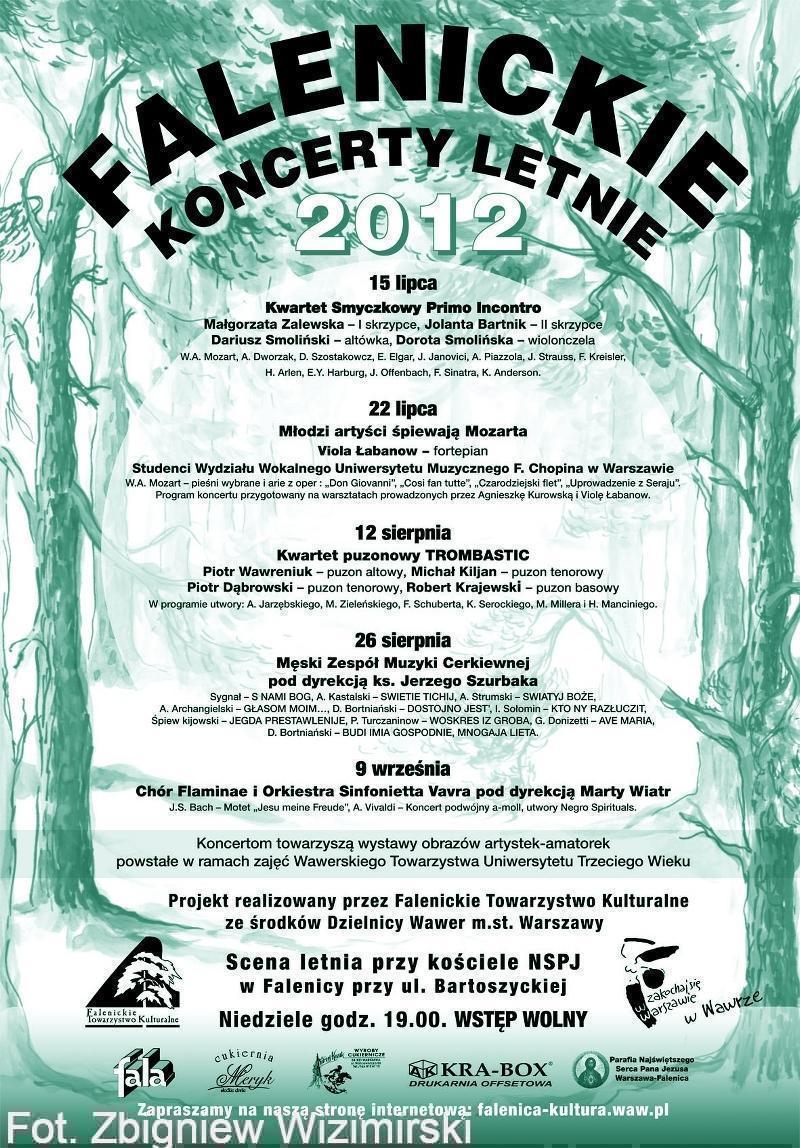 Afisz koncerty letnie ziel-wp