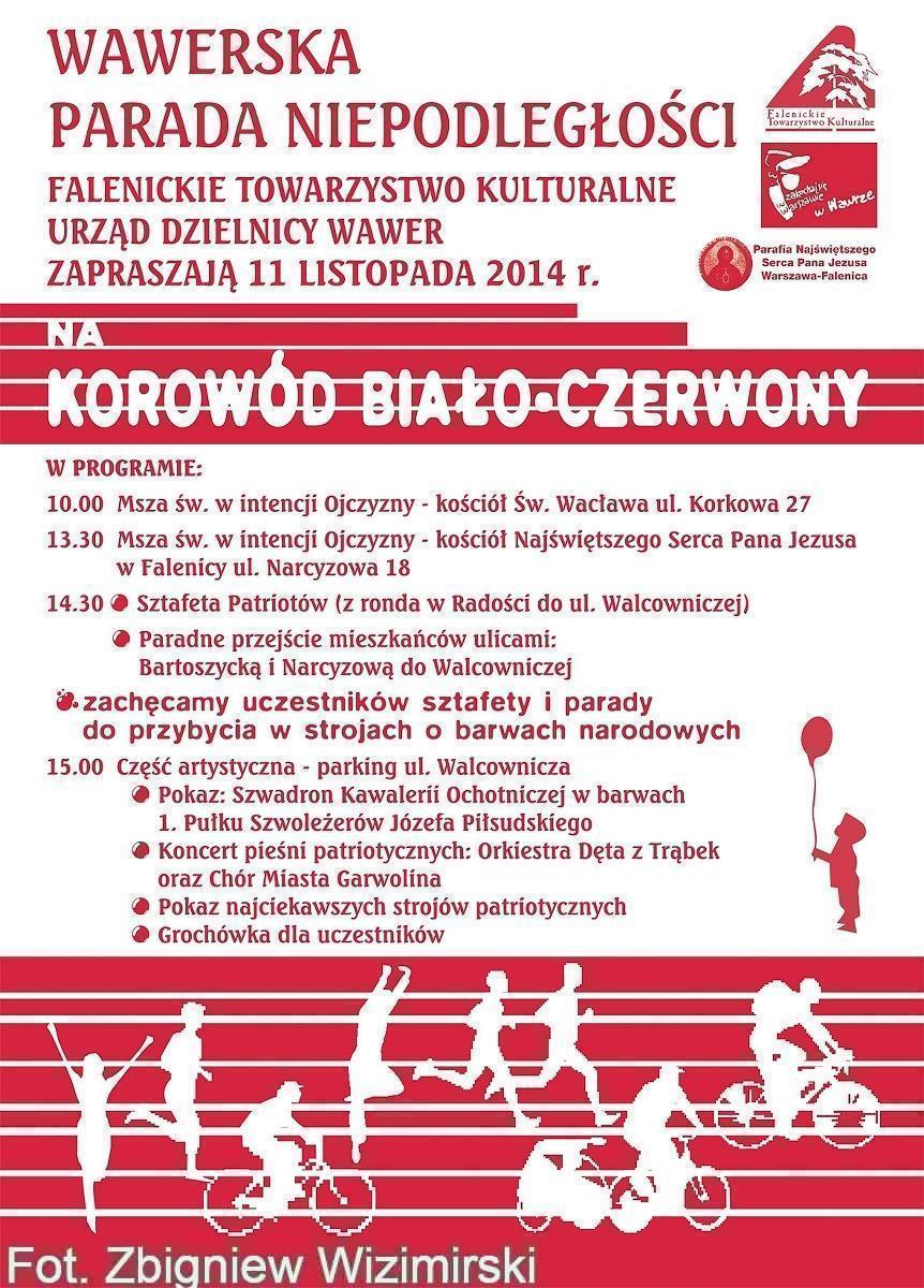Plakat parada 2014
